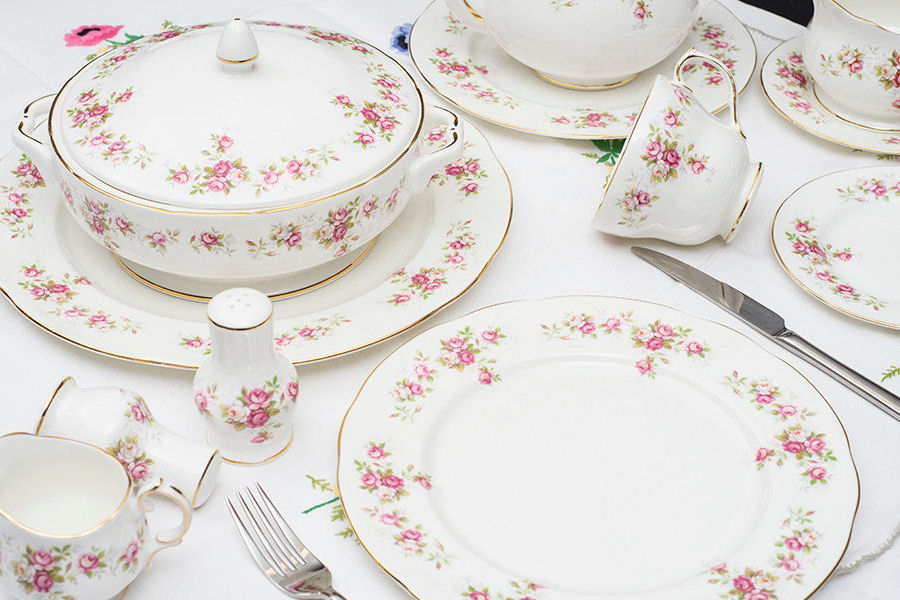 Duchess June Bouquet China